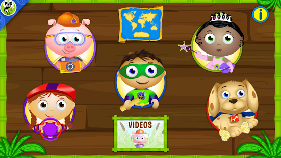 SUPER WHY ABC Adventures - screenshot thumbnail