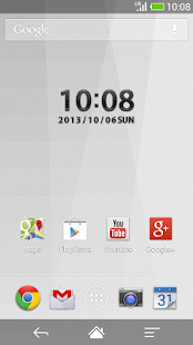 Carbon clock widget -MeClock