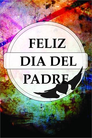 Tarjeta del día padre español