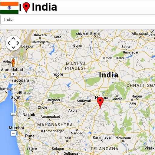 India Mapa