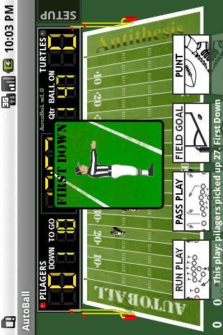 Solitaire Football- screenshot