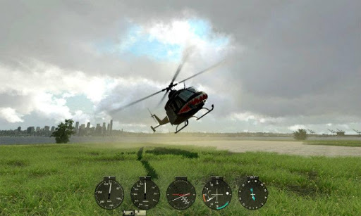 Helicopter RC Flight