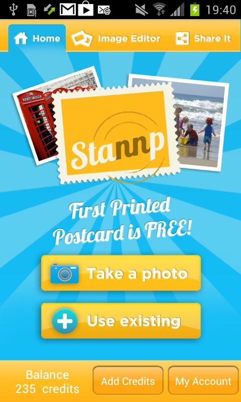 Stannp Postcard Maker - screenshot