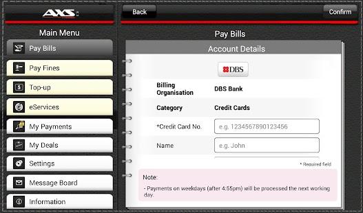 AXS Payment - screenshot thumbnail