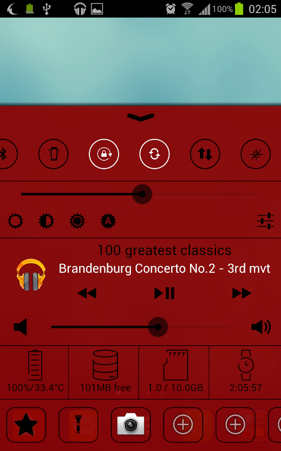 Control Center- screenshot