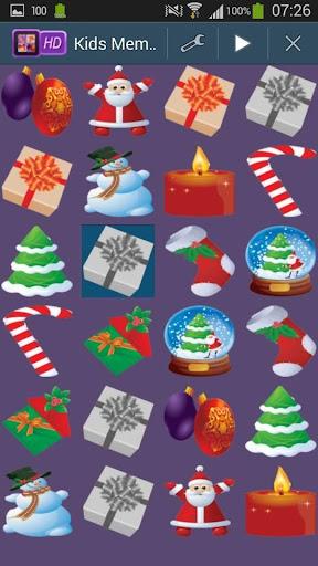 Christmas Kids Memory Game