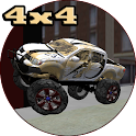 4x4 Offroad Truck 3d icon