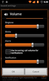 Basic Orange for CM7- screenshot thumbnail