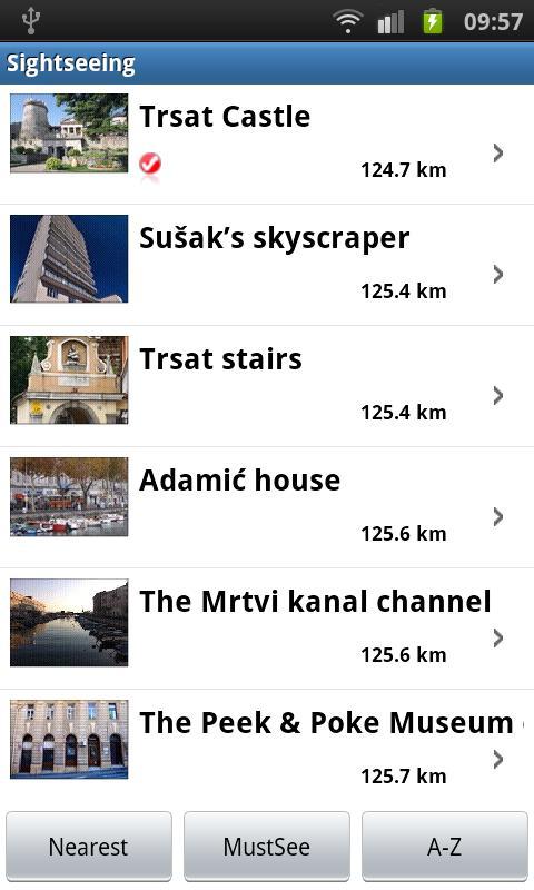 AdriaGUIDE Rijeka- screenshot