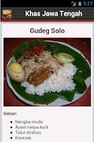 Screenshot of Resep Jawa Tengah