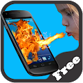 Shout Fire Screen Prank 1.0 icon