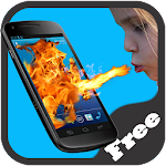Shout Fire Screen Prank 1.0 Apk