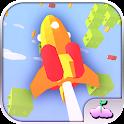 Rocket Runner Infinite Sky Tap icon