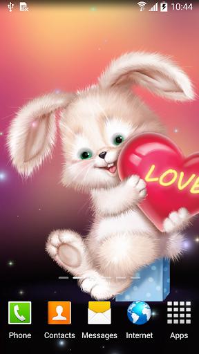 mod Cute Bunny Live Wallpaper 1.0.7 screenshots 4