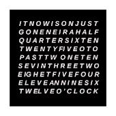 Written Clock Live Wallpaper