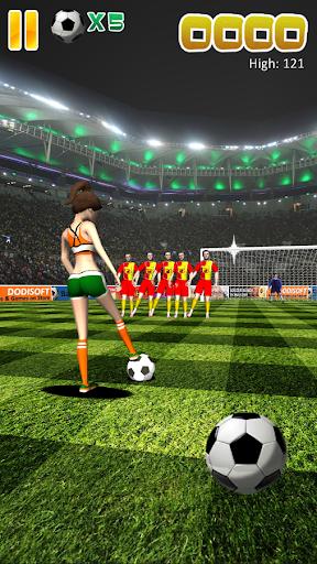 有趣的足球遊戲免費的應用程式