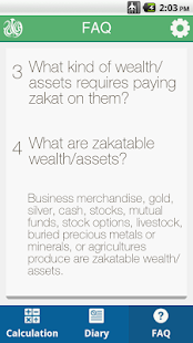 Zakat Diary- screenshot thumbnail