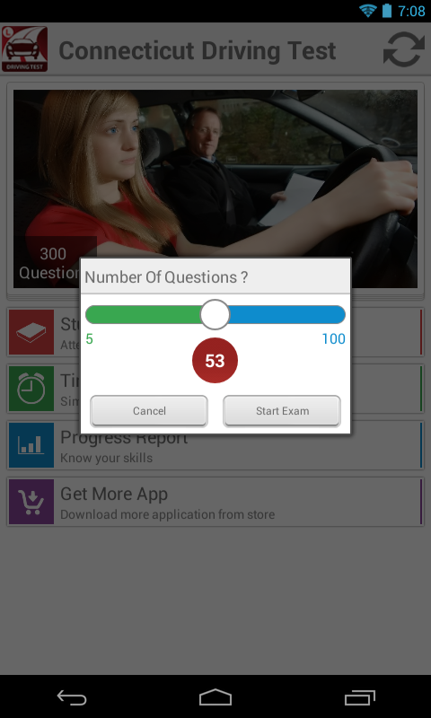Nebraska Driving Test- screenshot