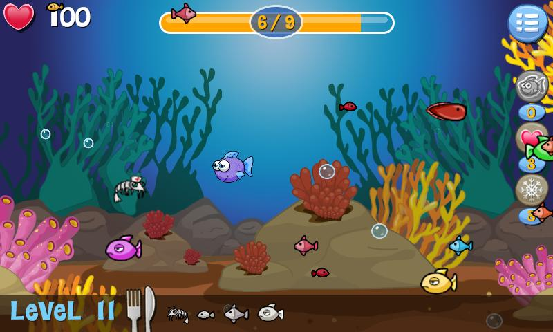 Hungry Fish- screenshot