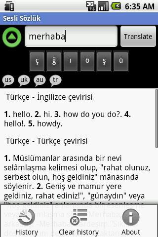 Sessiz - Sesli Sözlük - screenshot