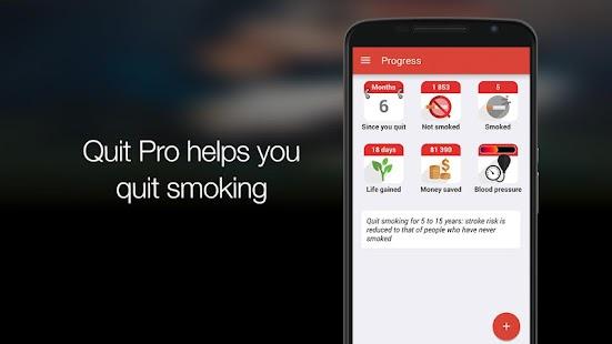 Quit Pro: stop smoking now - screenshot thumbnail