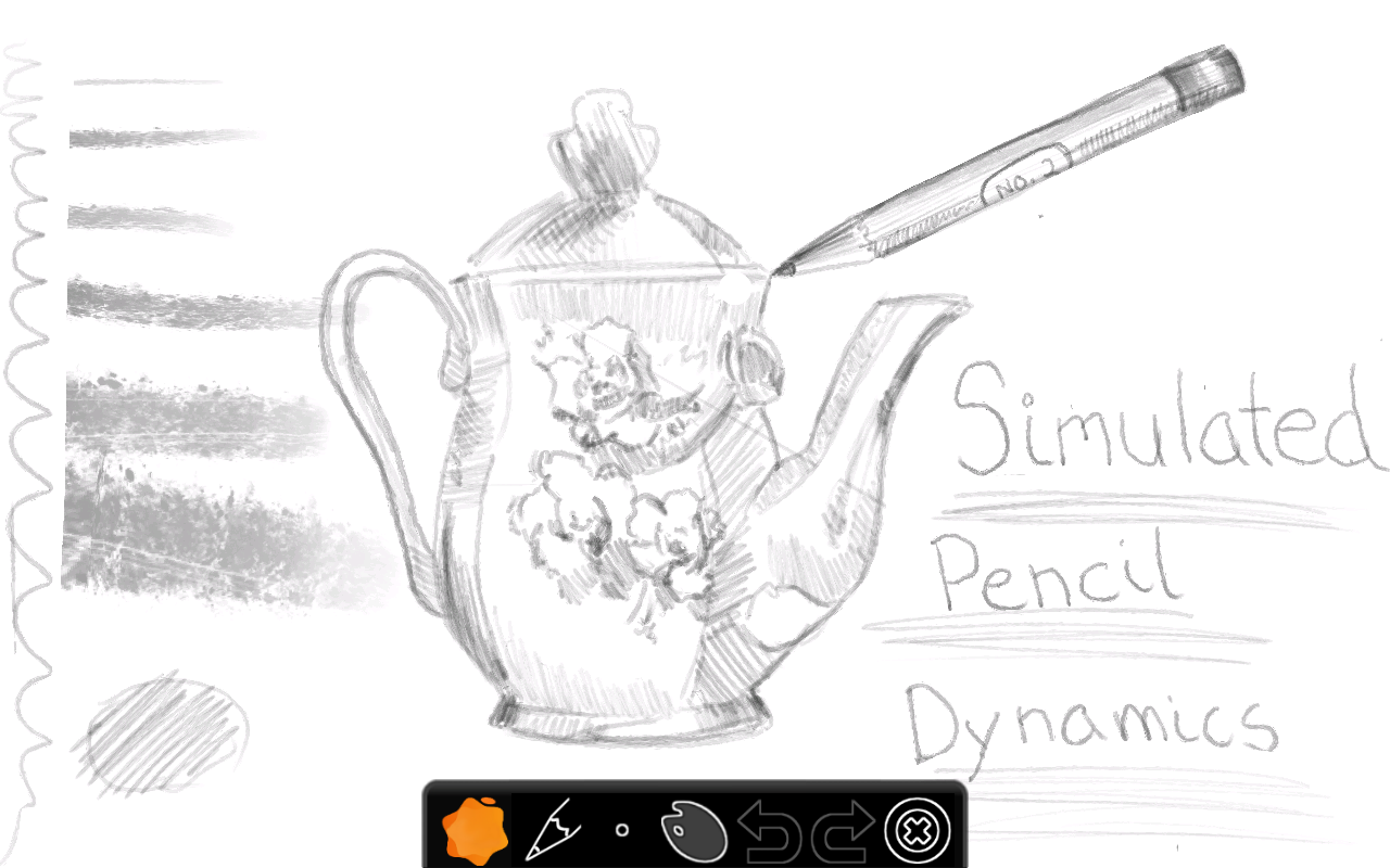 Doodledroid - paint and sketch - screenshot
