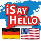 iSayHello German - English USA icon