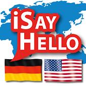 iSayHello German - English USA