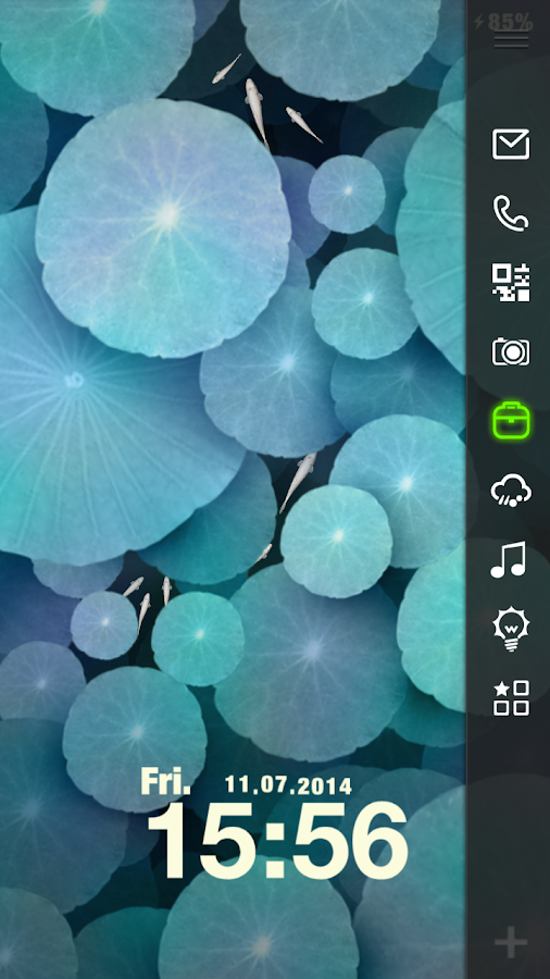 Little Pond Live Locker Theme - screenshot