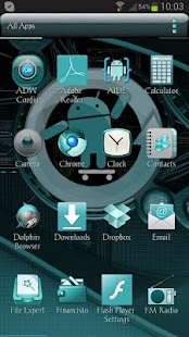 ADW Theme Cyanogen- screenshot thumbnail
