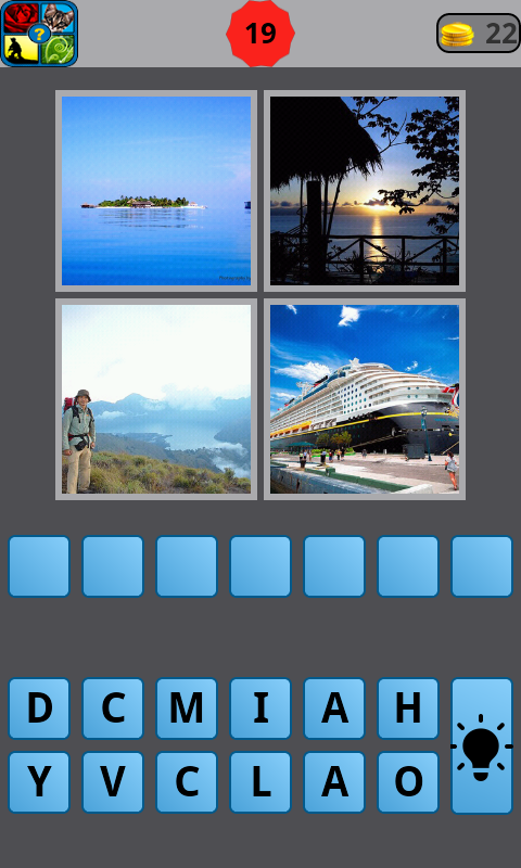 What word 4 pics - screenshot