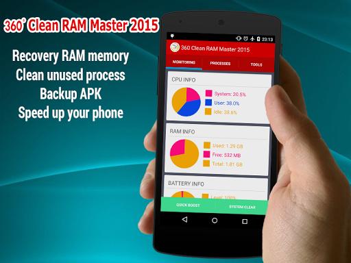 360 Clean RAM Master 2015