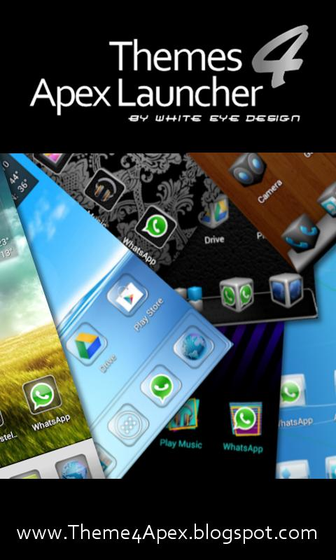 Plate Theme 4 Apex Launcher - screenshot