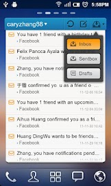 GO Email Widget Screenshot 1
