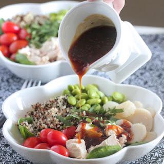 Teriyaki Chicken Quinoa Power Bowl.