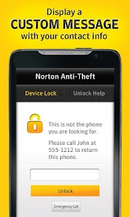 Norton Anti-Theft - screenshot thumbnail