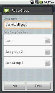 Contact Group screenshot 1