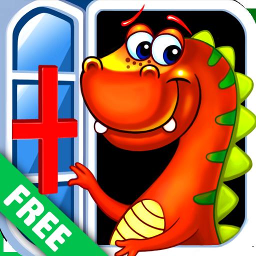 教育の恐竜先生 FREE LOGO-記事Game