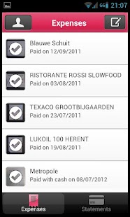 Xpenditure - Expense Reports - screenshot thumbnail