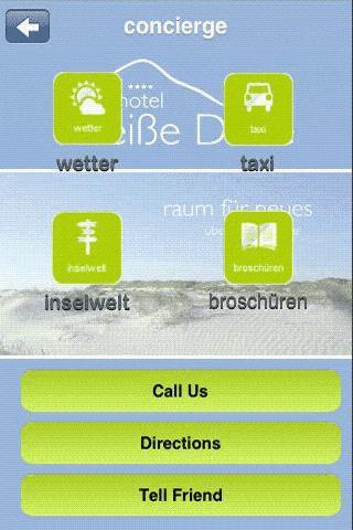 Hotel Weiße Düne- screenshot