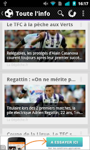 Foot Info Toulouse - screenshot thumbnail