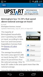 Birmingham Business Journal - screenshot thumbnail