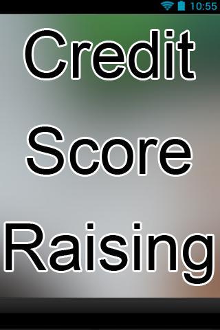 Credit Score Raising