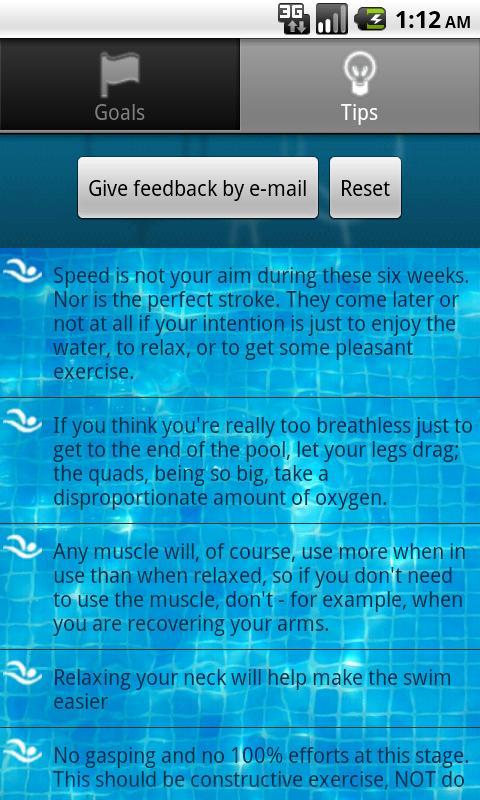 Swim a Mile Pro- screenshot