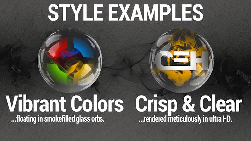 Smoke & Glass Icon Pack screenshot 1