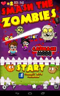 Zombie Games - Zombie Smasher