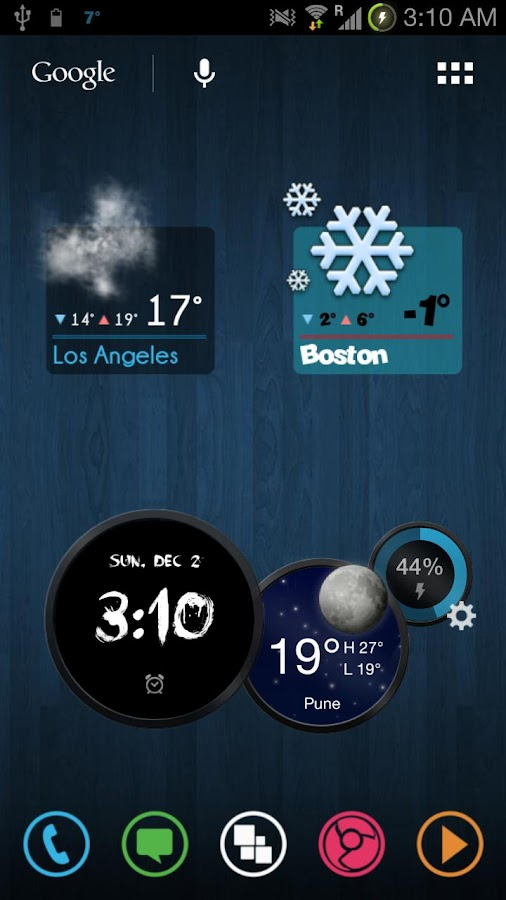 Stencil Weather - screenshot