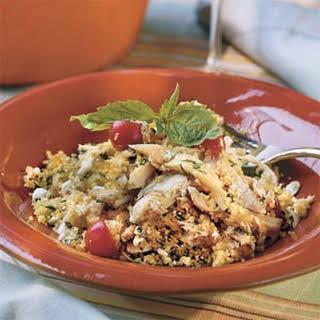 Mediterranean Chicken Couscous.
