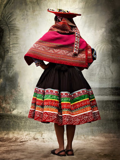 XII, Traditional women's costume, district of Quiquijana, province of Quispicanchi, Cusco, Peru 2007