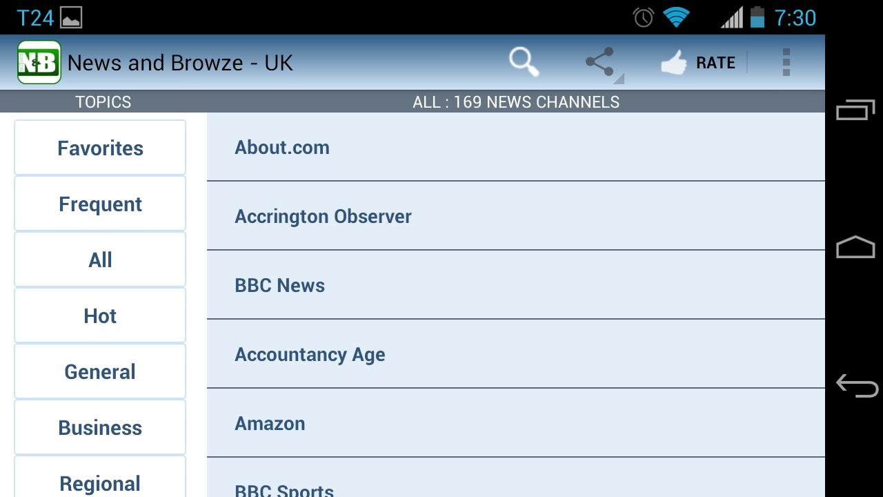 UK News and Newspapers- screenshot
